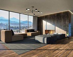 3D Cozy Sofa