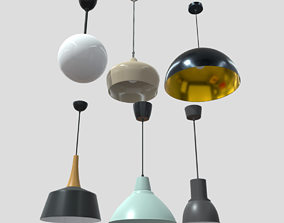 Ceiling Lamp Pack 3D model