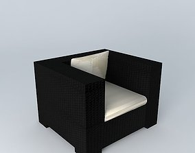 MIAMI Armchair Houses of the world 3D model