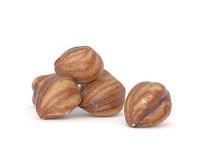 3D asset Hazelnut kernel Photoscan