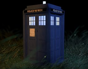 3D Tardis - Doctor Who