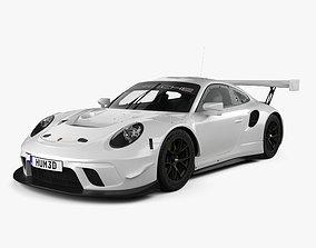 3D Porsche 911 GT3 R 2019