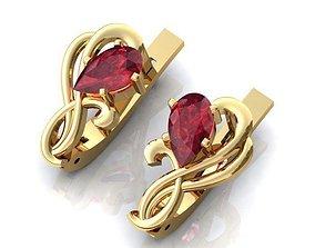 jewelry fashion fashion 3D model Earrings