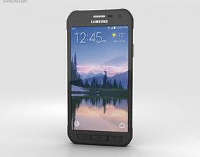 3D Samsung Galaxy S6 Active Gray