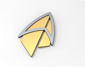 Badge from Star Trek Picard 3D printable model