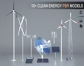 PBR PBR Clean Energy Models UE4 3dsMax
