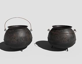 Cauldron 3D model PBR