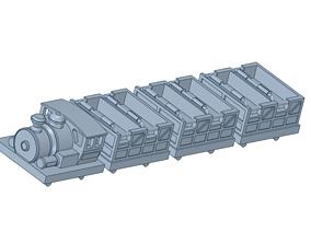 3D print model roller coaster vehicle