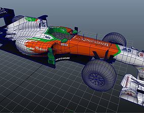 Force India 2011 Melbourne LOW POLY 3D model