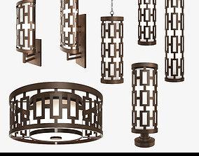 Fine Art Lamps River Oaks Lamp collection 3D