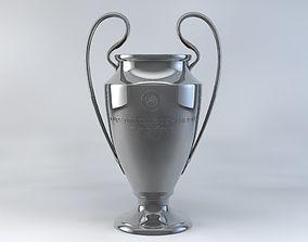 UEFA Champions League Trophy 3D model
