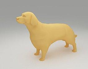 Golden Retriever 3D printable model