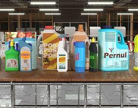 Detergents 3D