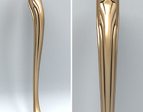 3D ornament Furniture leg 001