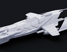 3D printable model HM-52 Halberd Strategic Bomber - 2
