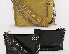 3D model GABRIELLE Small Hobo Bag BY CHANEL