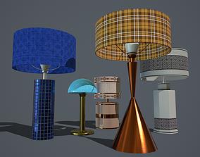 3D asset Lamps PBR