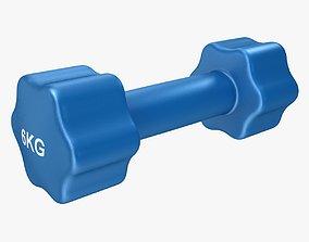 Dumbbell 6kg 3D model
