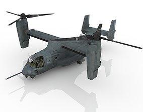 3D model combat aircraft