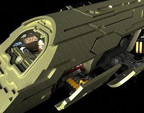 3D StarGate Atlantis Puddle Jumper