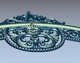 3D model headboard decor