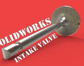 intake valve 3D model