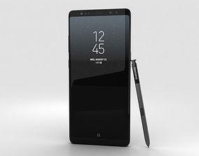 3D Samsung Galaxy Note 8 Midnight Black