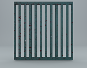 3D model game-ready grid low poly GameReady