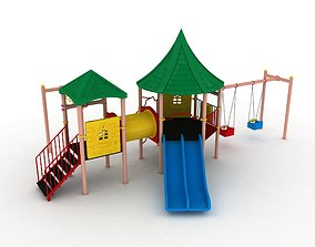 Gengon Metal Child Playground 60 3D