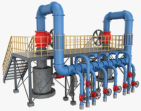 3D Piping System 1