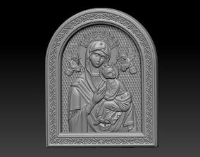 Mary with baby 3D print model