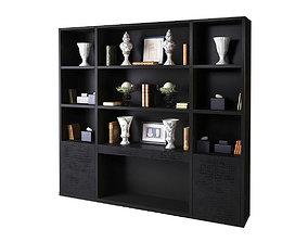 3D Fendi Bookshelf Roy LIB240