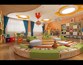 3D asset Kindergarten