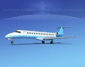 Embraer ERJ-140 Corporate 3 3D model