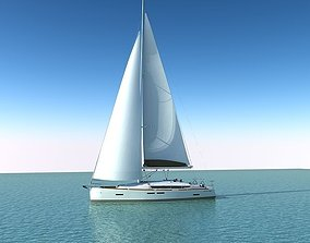 Jeanneau Sun Odyssey 409 3D