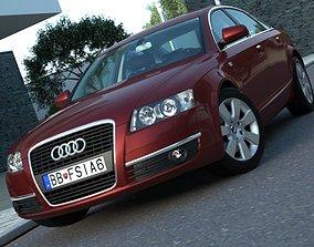 Audi A6 2006 3D model