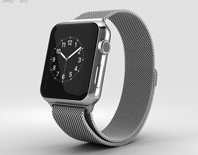 3D model Apple Watch Series 2 38mm Stainless Steel Case 1