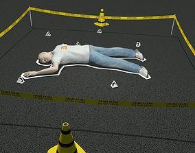 3D Crime scene