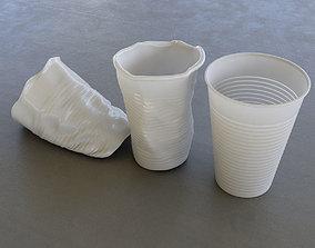 Plastic Cup 3D asset