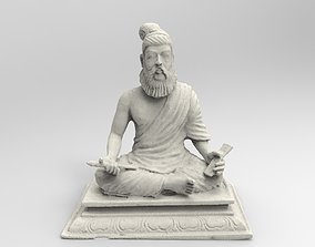 Indian Tamil Ancient Saint Thiru 3D printable model 1