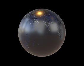 model 3D asset Earth v1 002