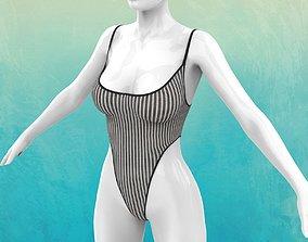 Lingerie bodysuit Stilo 1 3D model