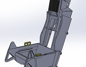 AcesII Ejection seat 3D