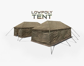 3D model Military Tent
