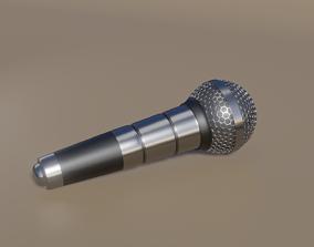 Microphone 3D model studio