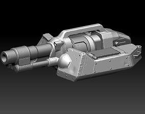 Turret 3D printable model