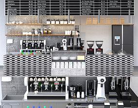 cake 3D model Coffee Shop