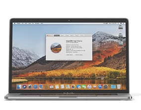 3D animated Apple Macbook Pro 15 with Touch Bar
