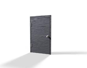 3D asset trendy door