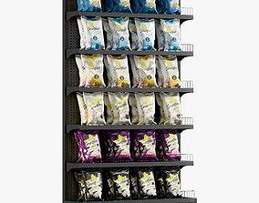 3D asset Popcorn Shelving 1